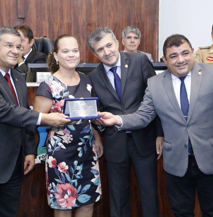 Carlos Dutra, Nagila Lopes, Antonio Henrique E Raimundo Filho