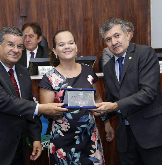 Carlos Dutra, Nagila Lopes E Antonio Henrique