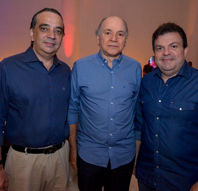 Carlos Gualter Lucena, Inácio Barreira E Fernando Ferrer