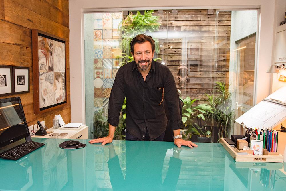 Carlos Otávio mistura arte e arquitetura em seus projetos