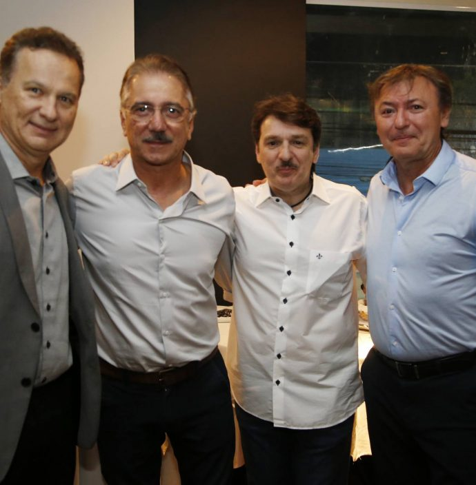 Carlos Pimentel, Helder Montenegro, Raimundinho Feitosa E Mauricio Filizola