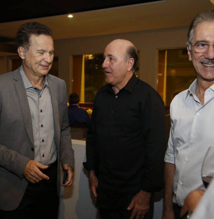 Carlos Pimentel, Silvio Frota E Helder Montenegro