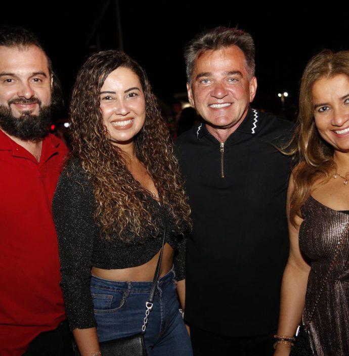 Carol E Paula Castro, Watson Viana E Fabiola Falcao