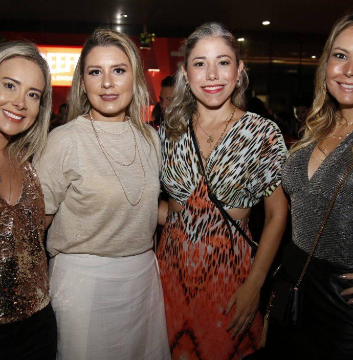 Carolina Bernal, Jessica Medeiros, Rejane Belchior E Taline Mihailuc