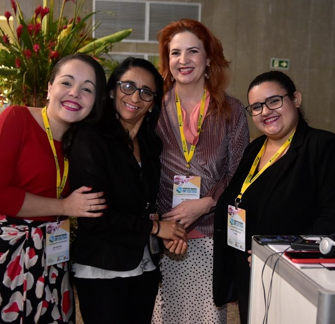 Caroline Macêdo, Isabel Ribeiro, Enid Câmara, Dionizia Rodrigues