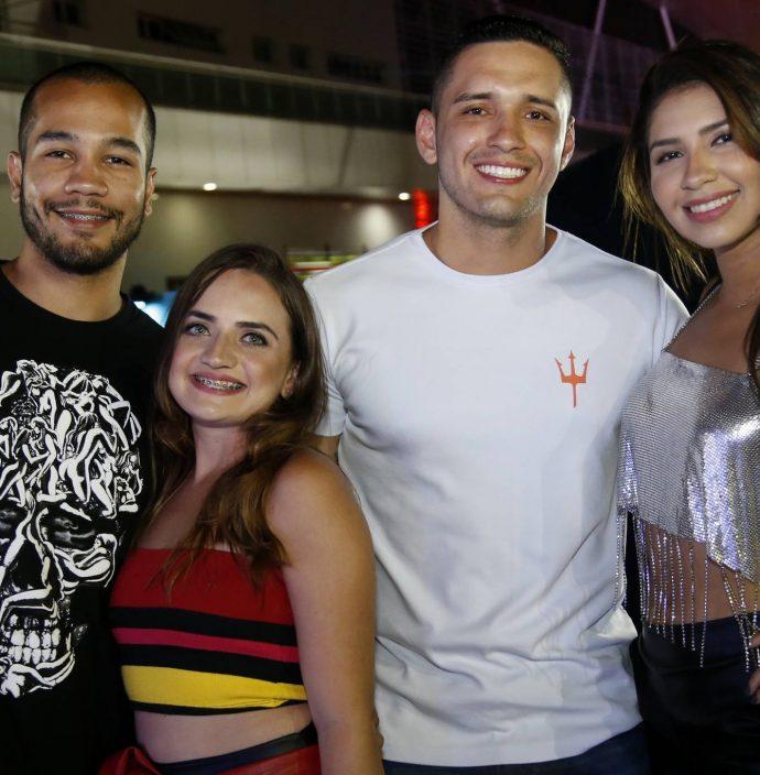 Cassio Bruno, Raissa Vasconcelos, Darick Souza E Fernanda Nunes