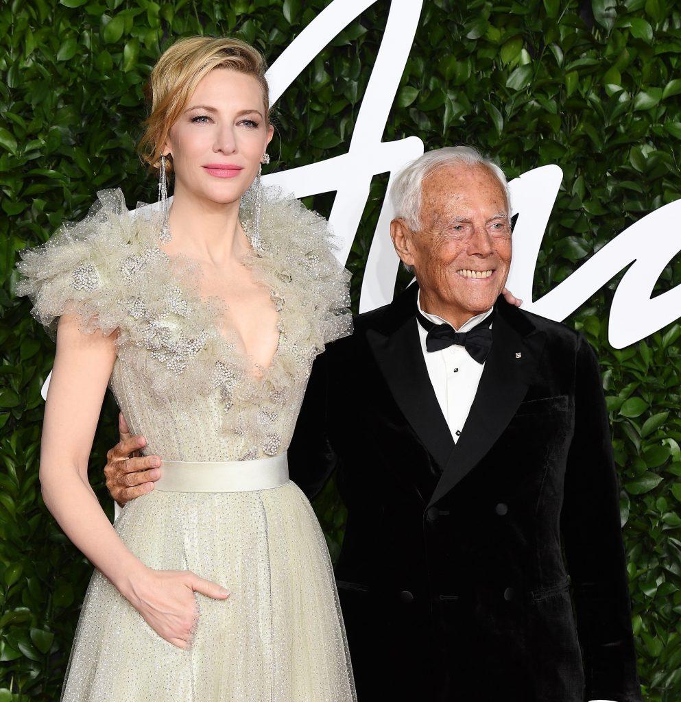 Cate Blanchett & Mr. Armani