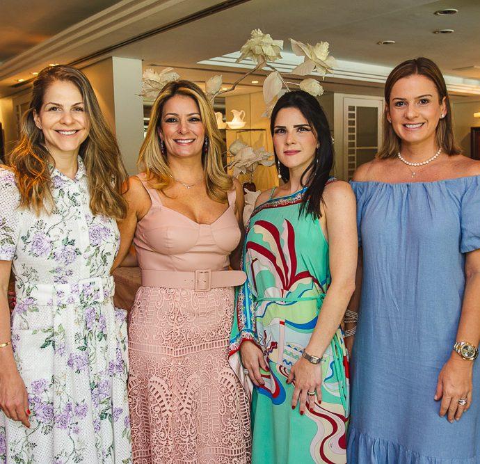 Cecilia Dafonte, Tatiana Luna, Marilia Vasconcelos E Hellen Pessoa