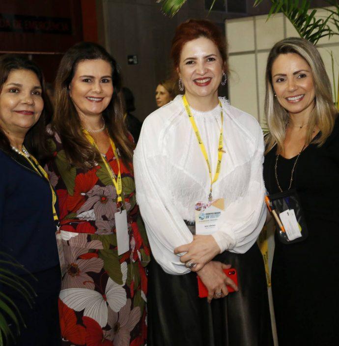 Celina Castro Alves, Ivana Bezerra, Enid Camara E Keila Moreira