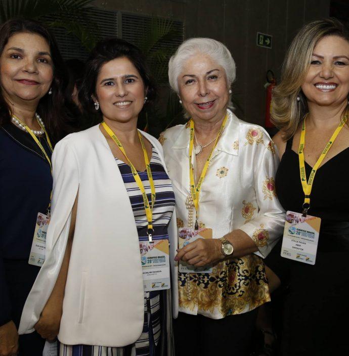 Celina Castro Alves, Micheline Escossia, Alodia Guimaraes E Stella Pavan