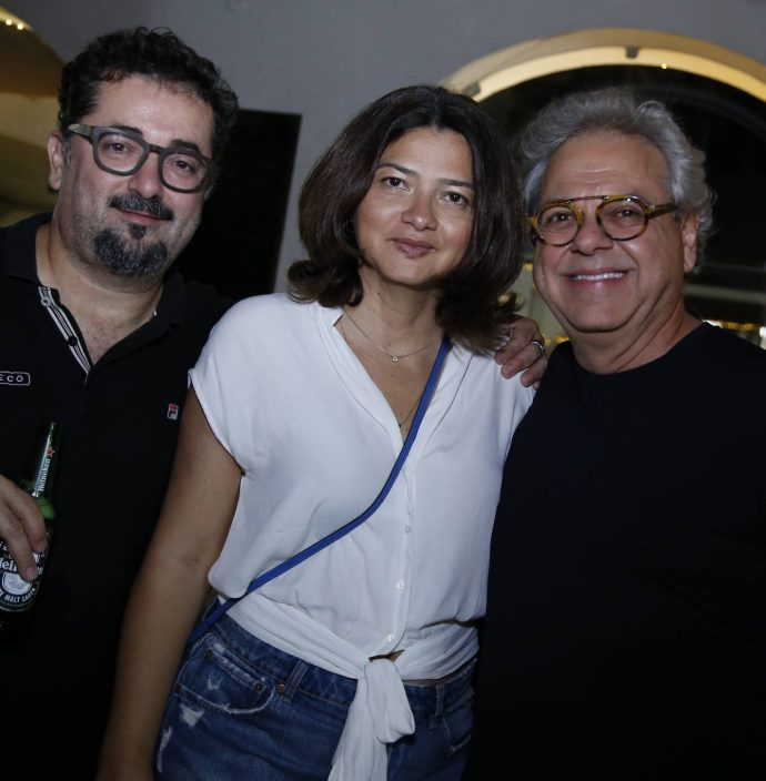 Celio Paiva, Sinara Moreira E Marcal Barros
