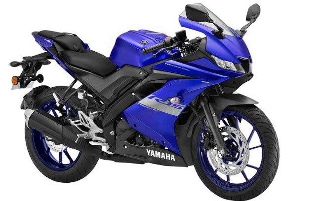 Yamaha R15 vem com visual mais apelativo na linha 2020