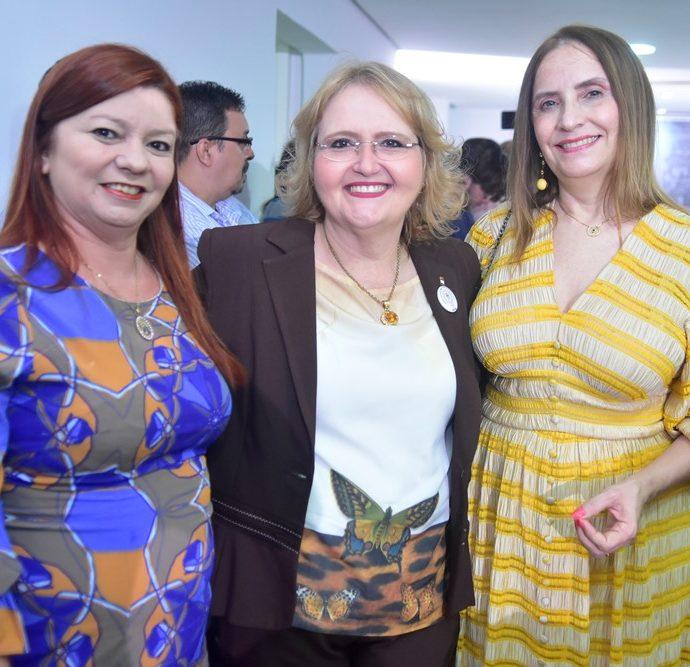 Cida Aragão, Cristhina Brasil, Marcia Diógenes