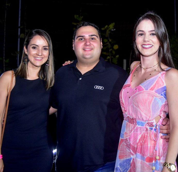 Cize Macêdo, David Barrocas, Erika Bessa