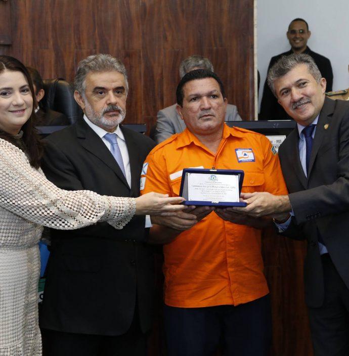 Claudia Gomes, Francisco Azevedo, Luciano Agnelo E Antonio Henrique