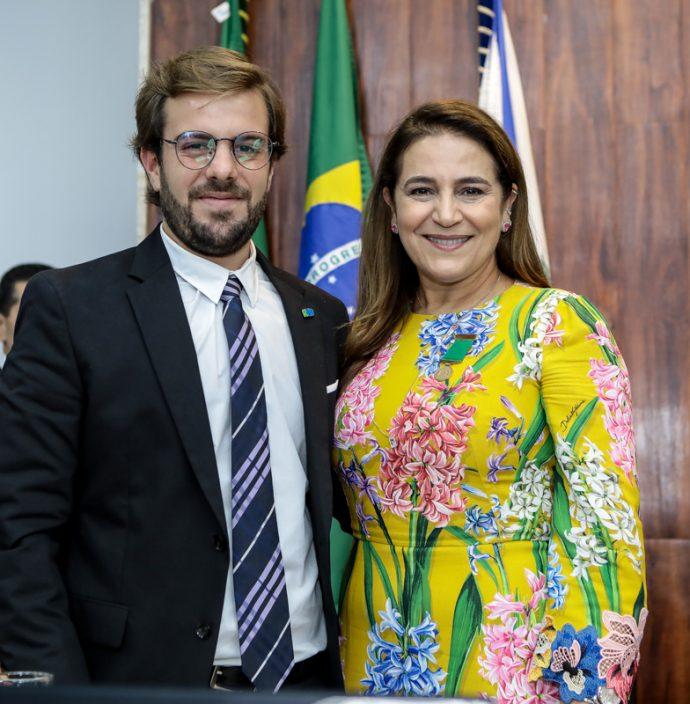 Cláudio Nelson e Patricia Macedo