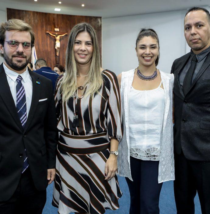 Claudio Nelson, Luana Brasileiro, Emilia Terranova E Robson Vieira