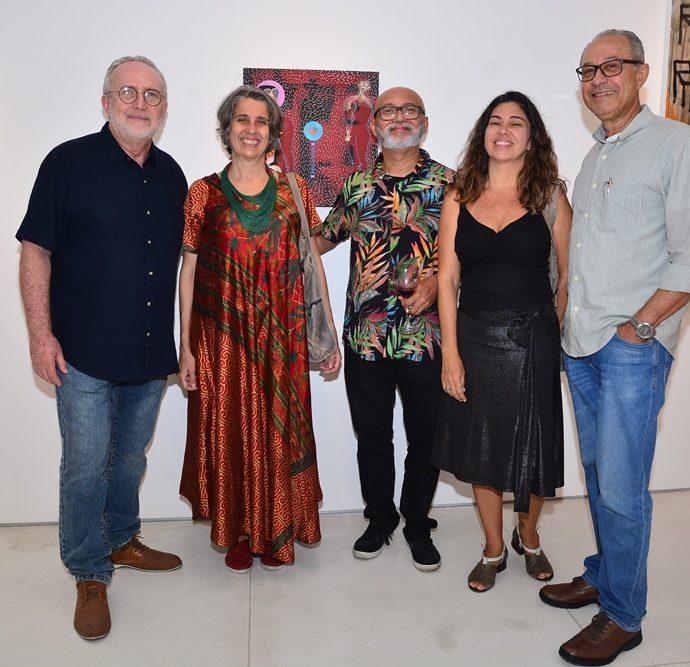 Claúdio Viriato, Ana Débora Pessoa, Cardoso Júnior, Fabiana Azeredo E Alberto Marques