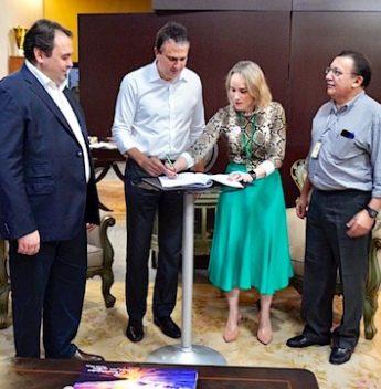 Camilo assina acordo de troca de informações entre Sefaz e Detran