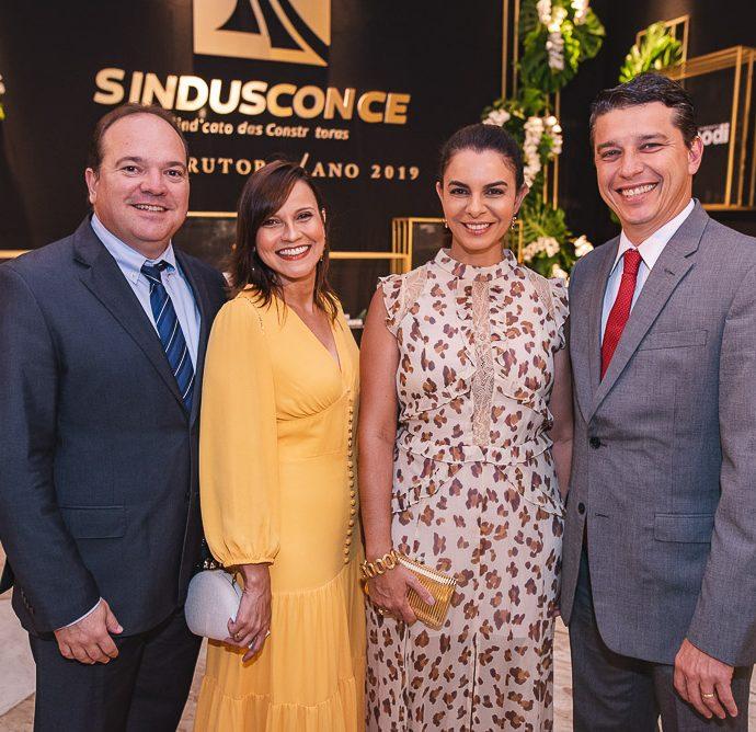 Cristiano Fontenele, Karine Fontenele, Juliana Barroso E Andre Siqueira