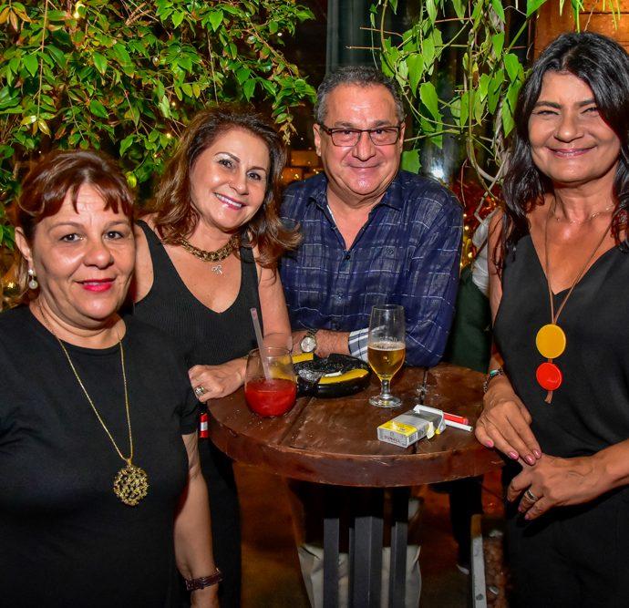 Cristina Rego, Tania E Manoel Veras E Patricia Saboya
