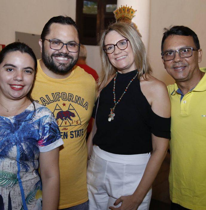 Daila Caroline, Naldo Moreira, Patricia Uchoa E Ivan Sampaio