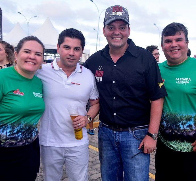 Daniela Prado, Pompeu Vasconcelos, Cleber Mota, Marcelo Prado
