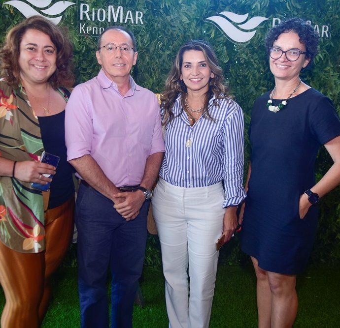 Daniella De Lavor, Ildefonso Rodrigues, Marcia Travessoni, Liana Ribeiro