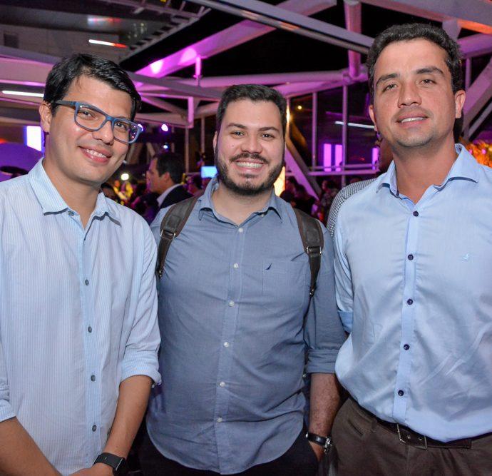 Dante Rosado, Vitor Macedo E Arsirilo Lima