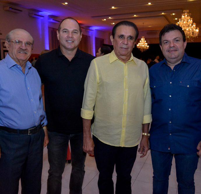 Darlan Marciel, Freitas Junior, Gaudêncio Lucena E Fernando Ferrer
