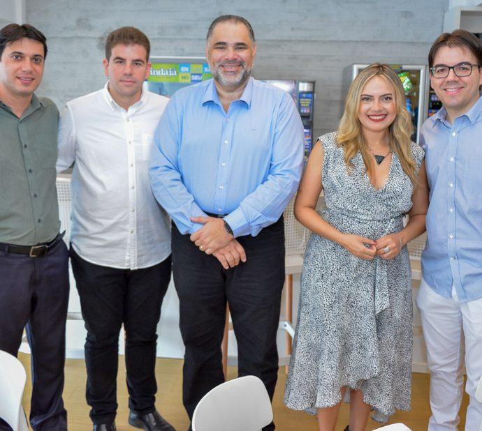 David Mesquita, Guilherme Praca, Edson Ferreira, Monika Vieira E Gustavo Rocha
