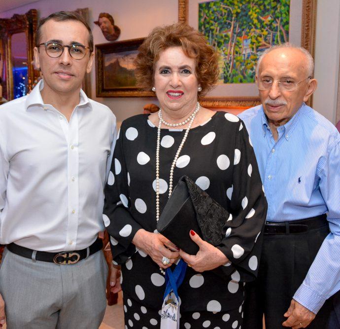 Delano Belchior, Leda Maria E Francisco Solto