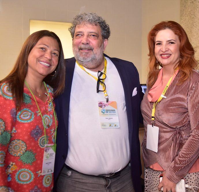 Denize Morais, Tony Coelho, Enid Câmara