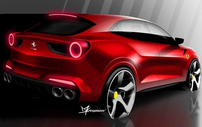 SUV da Ferrari já tem nome e deve chegar em 2021