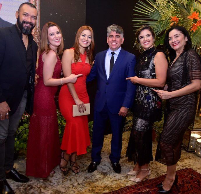 Dinho Alexandre, Luisa Lemos, Raquel Agnes, Wellington Holanda, Renata Holanda, Ivelise Vieira