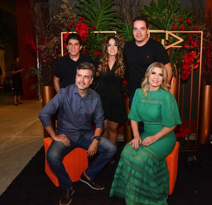 Dito Machado, Larissa Meira, Thiago Holanda, Alexandre Pereira E Liliane Meira