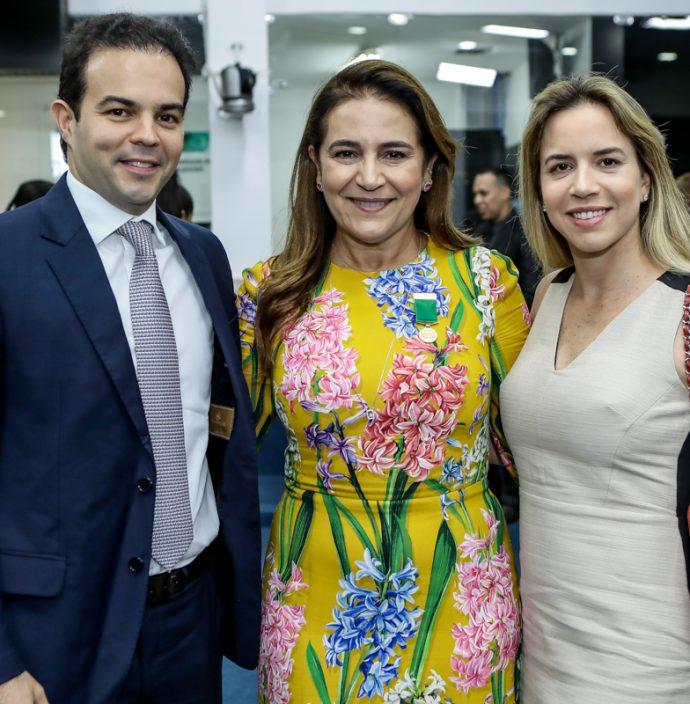 Drausio Barros Leal, Patricia Macedo E Isabella Barros Leal
