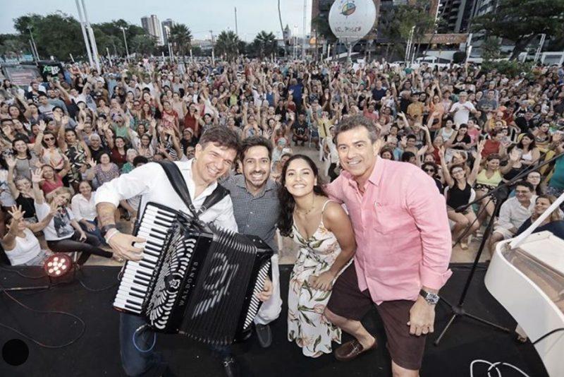 Projeto Pôr do Sol encerra a temporada com grande show no Mucuripe