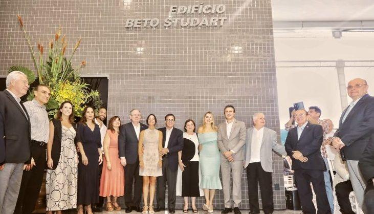 Casa da Indústria recebe o nome do empresário Beto Studart