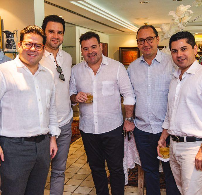Edmilson Pinheiro, Leonardo Couto, Jose Carlos Pinheiro, Ariston Pessoa E Pompeu Vasconcelos