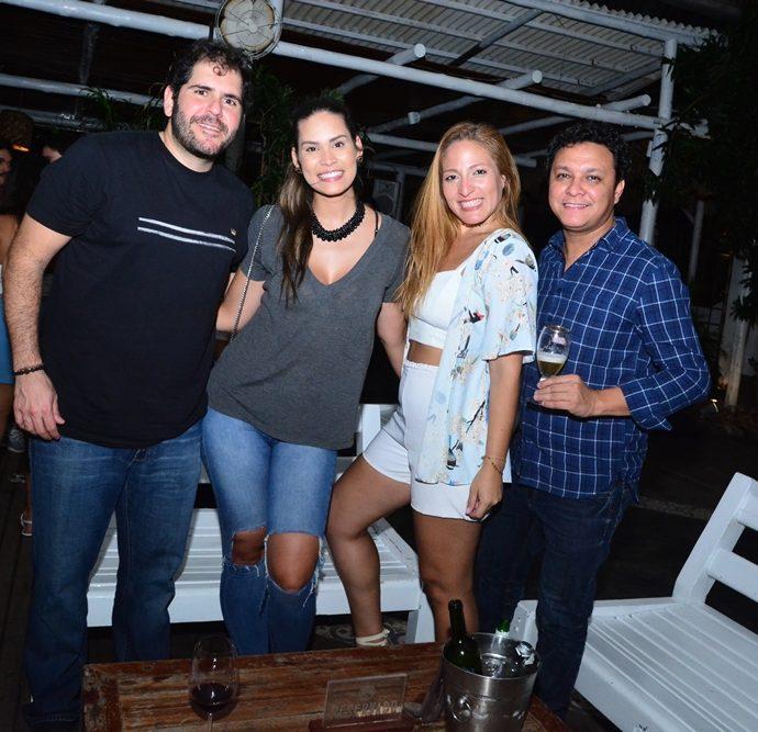 Eduardo Castelão, Jade Oliveira, Ludimila Nascimento, Alexandre Bento