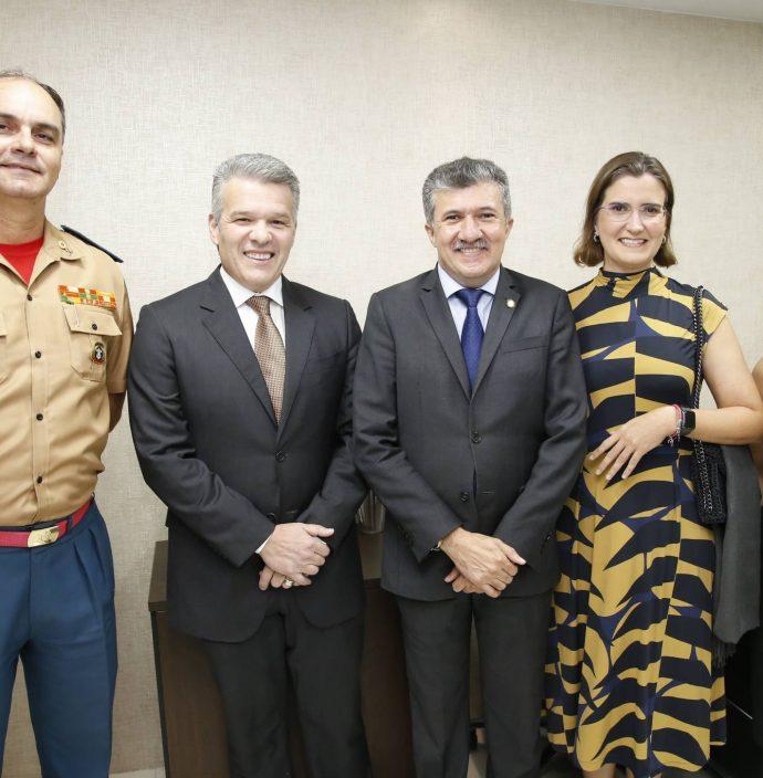 Eduardo Holanda, Ferruccio Feitosa, Antonio Henrique, Manoela Nogueira E Ines Melo
