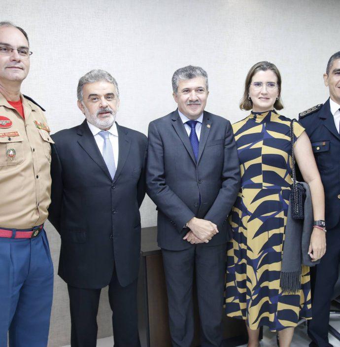 Eduardo Holanda, Francisco Azevedo, Antonio Henrique, Manoela Nogueira E Marcilio Tavora