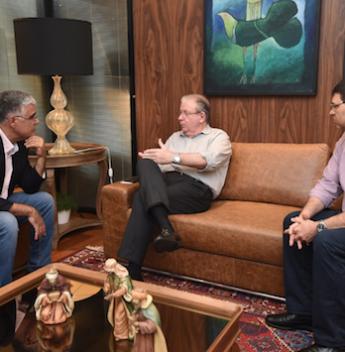 Eduardo Girão visita a FIEC e diz que atuará pelo setor produtivo