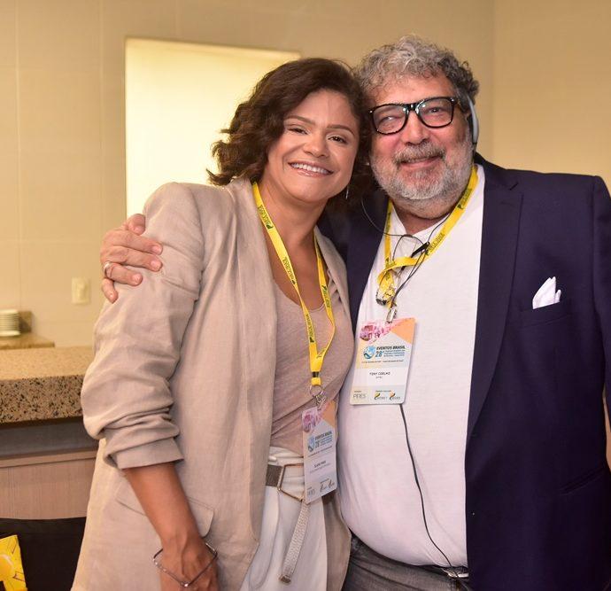 Elane Pires, Tony Coelho