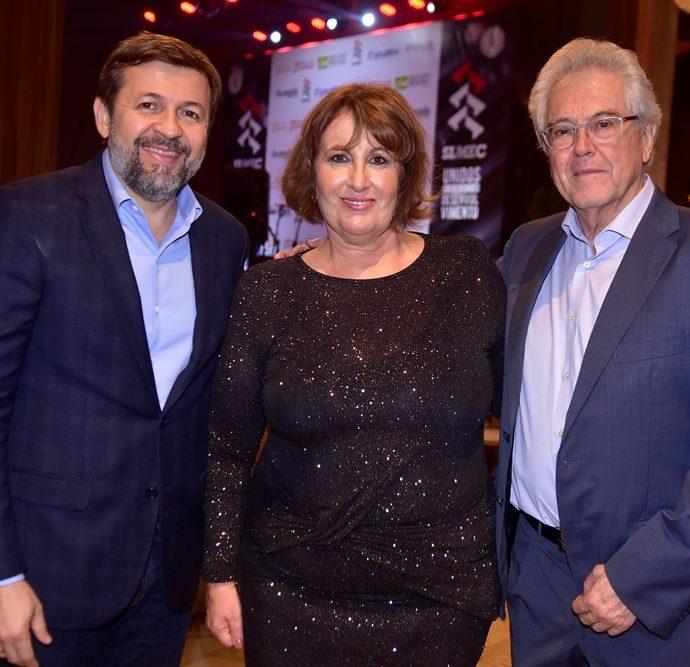 Élcio Batista, Annette de Castro, Ramon Térmens