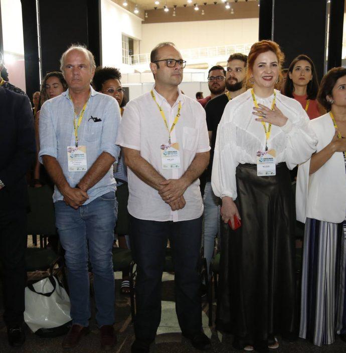 Eliseu Barros, Joao Carlos, Daniel Fiuza, Enid Camara E Micheline Escossia