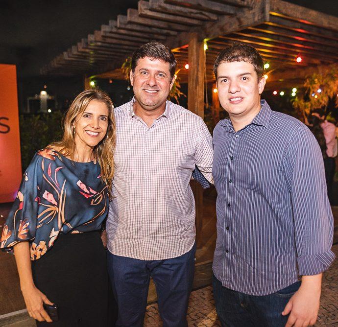 Eliziane Colares, Rafael Rodrigues E Guilherme Holanda