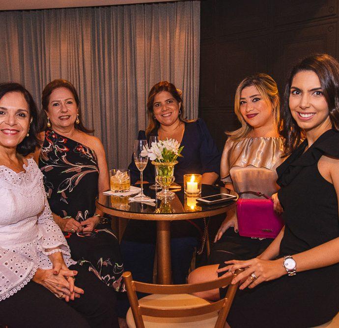 Elusa Laprovitera, Cristina Aragao, Gisela Vieira, Manu Romcy E Carla Laprovitera