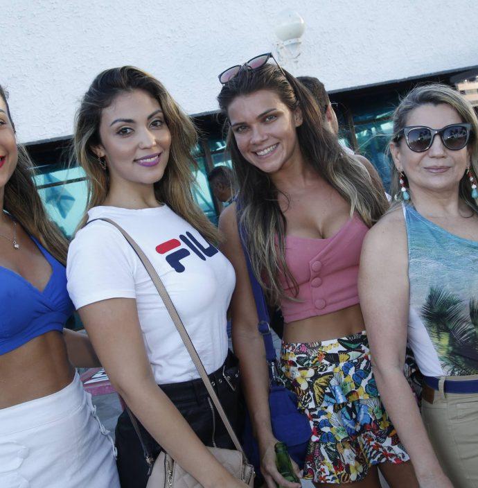 Emanuela Ferreira, Ariane Grazielle, Jordana Vasconcelos E Auxiliadora Meyer